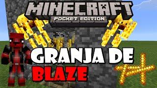 getlinkyoutube.com-Minecraft Pe 0.15.0 | Granja De Blaze (varas De Blaze)|Como Hacer Una Granja De Blaze En MCPE 0.15.0