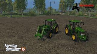 getlinkyoutube.com-Farming Simulator 15 : John Deere 6430 Pack Mod
