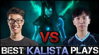 getlinkyoutube.com-Kalista Montage [Battle]: WildTurtle vs Doublelift