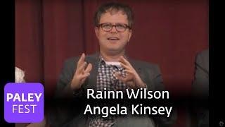 getlinkyoutube.com-The Office - Angela Kinsey & Rainn Wilson