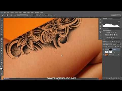 Cara Membuat Tato dengan Photoshop