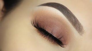 getlinkyoutube.com-Everyday Warm Matte Eyeshadow Tutorial!
