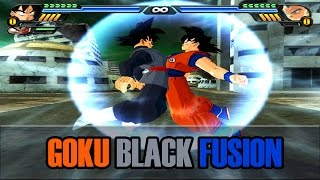 getlinkyoutube.com-Goku and Black Goku Fusion | Archangel Goku | DBZ Tenkaichi 3 (MOD)