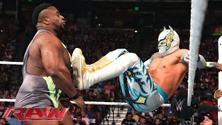 getlinkyoutube.com-The Lucha Dragons vs. The New Day: Raw, April 6, 2015