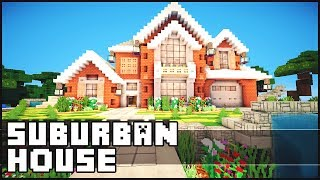 getlinkyoutube.com-Minecraft - Suburban House
