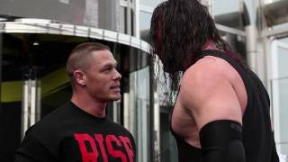 getlinkyoutube.com-WWE superstar John Cena performs Attitude Adjustment on Kane at top of Burj Khalifa