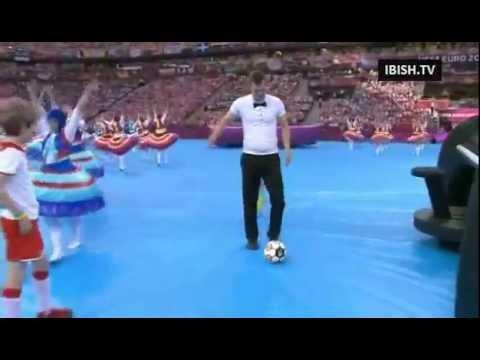 EURO 2012 Ceremonia otwarcia Polska - Ukraina HD