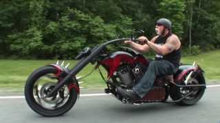 "getlinkyoutube.com-Custom ""Bad Guys"" Themed Chopper by OCC"