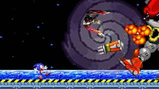 getlinkyoutube.com-Sonic 2 Secret Final Boss - Mecha Mighty (sprite animation)