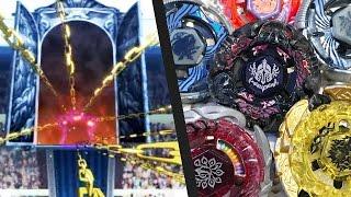 getlinkyoutube.com-Beyblade Anime VS Real Life - WORLD CHAMPIONSHIPS! Team Star Breaker VS Team Excalibur