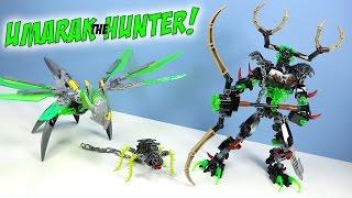 getlinkyoutube.com-LEGO Bionicle Umarak The Hunter & Uxar Creature 2016 Opening Fast Build Review