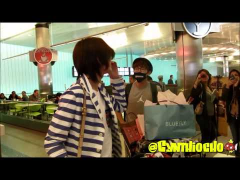 [130522] Infinite Arrival LAX [TALKING TO SUNGYEOL!]