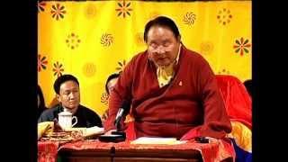 getlinkyoutube.com-Sogyal Rinpoche's teaching in Bhutan Part 1