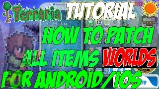 """getlinkyoutube.com-Terraria All Items World For - (ANDROID/IPHONE) With """"Modded Items And Tutorial!!"""" (WORKING APRIL)"""