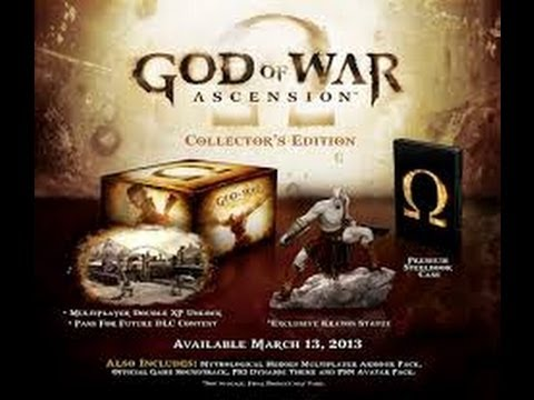 God of War Ascension SpeciiaL Edition Unboxing