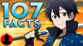 107 Sword Art Online Facts YOU Should Know - (ToonedUp #109) @CartoonHangover