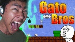 getlinkyoutube.com-Gato Bros (Syobon Action) en español por fernanfloo