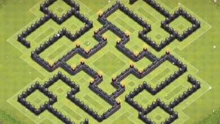 getlinkyoutube.com-*Clash Of Clans* Town Hall 9 Farming Base (Anti Two Star Base)