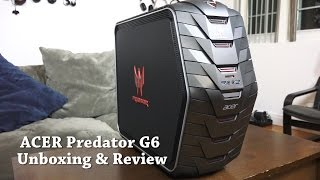 getlinkyoutube.com-Acer Predator G6 Gaming Desktop Unboxing & Review