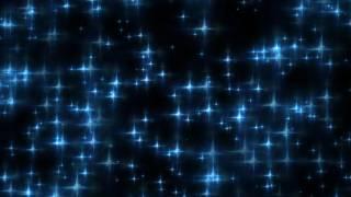 getlinkyoutube.com-4K 10Min Romantic Ambient Slow Dance Blue Stars Flying Up 2160 Motion Background