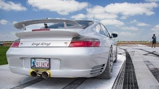 getlinkyoutube.com-KING KONG 1300hp TT Porsche - Spinout @ 180MPH!!!