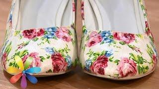 getlinkyoutube.com-Как из старой обуви сделать новую - Все буде добре - Выпуск 571 - Всё будет хорошо 25.03.15