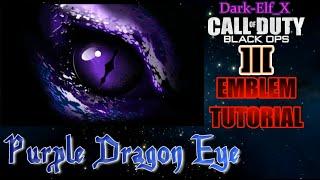 getlinkyoutube.com-Black Ops 3 Emblem - Purple Dragon Eye