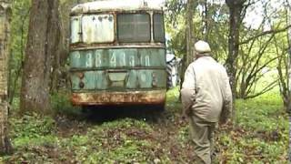 getlinkyoutube.com-Transporting an Ikarus 620 from Sürgavere to Järva-Jaani, Estonia (2006)