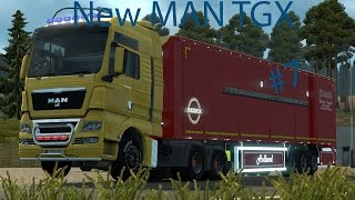 getlinkyoutube.com-MAN TGX Modified ETS2 (Euro Truck Simulator 2)