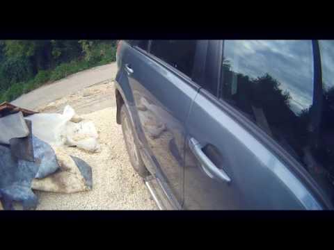Suzuki Vitara - небольшой ремонт двери.