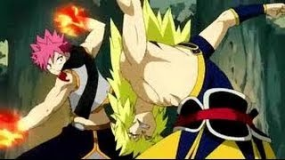 getlinkyoutube.com-Fairy Tail Natsu vs Zancrow Full Fight English Subbed HD