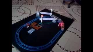 getlinkyoutube.com-Automatic railway gate control project for science exhibition