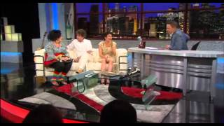 Los actores muy populares en Cuba Fernando Hechevarría y Broselianda Hernández en ENTN