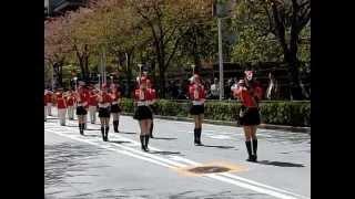 getlinkyoutube.com-強風での演技・横浜消防音楽隊・ポートエンジェルス119