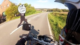 getlinkyoutube.com-Angry Guy attacks biker