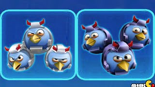 getlinkyoutube.com-Angry Birds Transformers – New Photoblast With Blue The PROWL And Bluestreak!