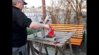 getlinkyoutube.com-трубогиб самодельный/homemade device for bending tubes and bars