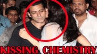 getlinkyoutube.com-Salman Khan, Jacqueline Fernandez Kissing Chemistry at 'Kick' Trailer Launch