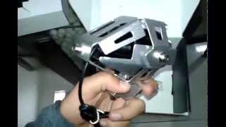 getlinkyoutube.com-Motorcycle U5 Cree Led ..unboxing . Actual product
