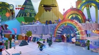 getlinkyoutube.com-The LEGO Movie Videogame - Cloud Cuckoo Land 100% Guide (Gold Instruction Pages/Pants)