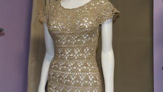 vestido crochet para mujer paso a paso
