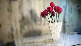 getlinkyoutube.com-Artesanato e decoração: vaso de flores