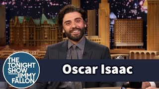 getlinkyoutube.com-Oscar Isaac's Uncle Scored a Role in Star Wars VII Using T-Shirts