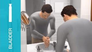 getlinkyoutube.com-自己導尿カテーテル:スピーディーカテネラトン 使用方法(男性向け)