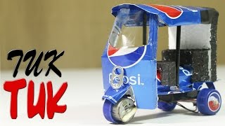 getlinkyoutube.com-How To Make An Electric Rickshaw (Tuk Tuk ) Out Of Pepsi Cans