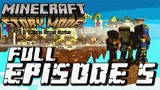 getlinkyoutube.com-Minecraft: Story Mode - Full Episode 5: Order Up! Walkthrough 60FPS HD
