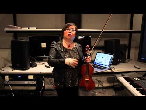 Mari Kimura's Augmented Violin: Juilliard Journal