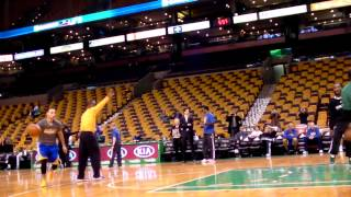 getlinkyoutube.com-Stephen Curry warm-up pt.2 3:1:13