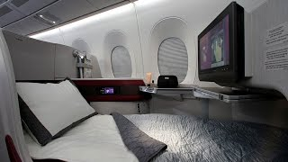 getlinkyoutube.com-Qatar Airways A350 Business Class - World's 5 Star Airline القطرية درجة رجال الأعمال