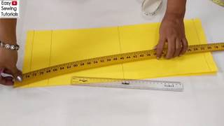 Sleeves Cutting in Hindi | Easy Method to Cut Sleeves for Beginners | #Sewing for Beginners